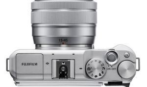 Fujifilm X-A5 picture one
