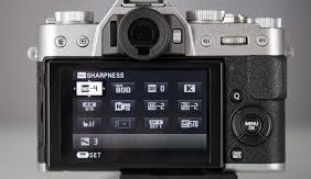 Fujifilm X-T20 Review: Touch screen feature