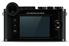Leica CL: LCD
