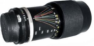 Nikon Lens: 80-200mm f / 4.5n AI