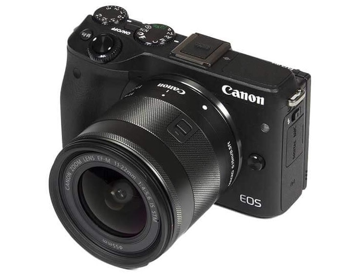 Canon EF-M 11-22mm f / 4-5.6 IS STM Lens: Compact Ultra-Wide Lens 1