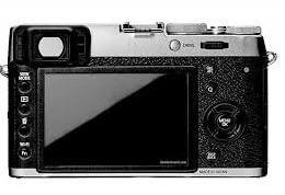 Fujifilm X100T: Camera's LCD