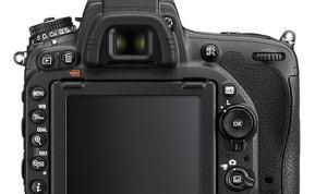 LCD of Nikon D750