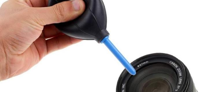 Lens Cleaning Tools