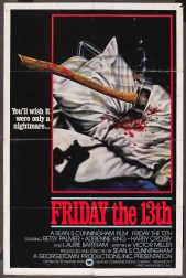 FRIDAY THE 13TH - American Poster by Joann