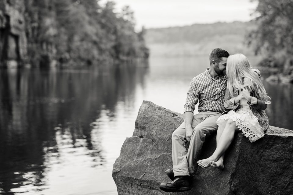Taylor's Falls Engagement Session