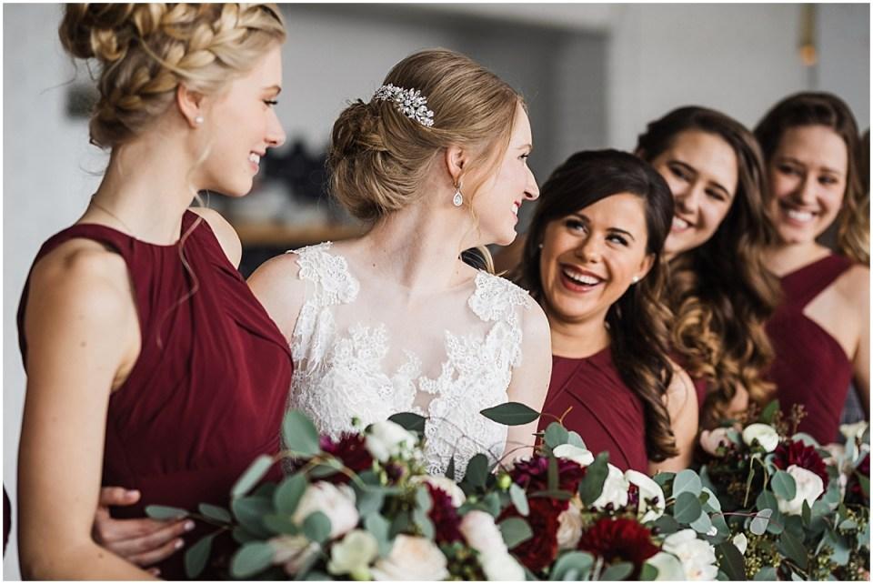 Studio 125 and Pinstripes in Edina Family Oriented Joyful Wedding Bridesmaids