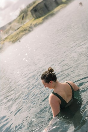 Destination Wedding photographers at Secret Lagoon in Iceland