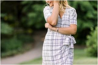 Patterned Summer Dress