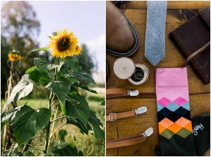 Terra Nue Farm Off beat bride non-traditional outdoor hipster wedding little details