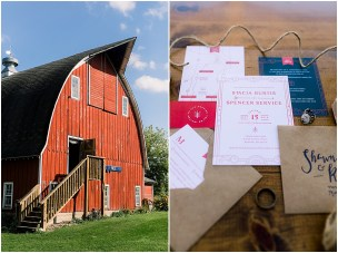 Terra Nue Farm Off beat bride non-traditional outdoor hipster wedding awesome invitation suite