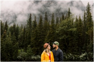 Moody Adventure session in Banff National Park
