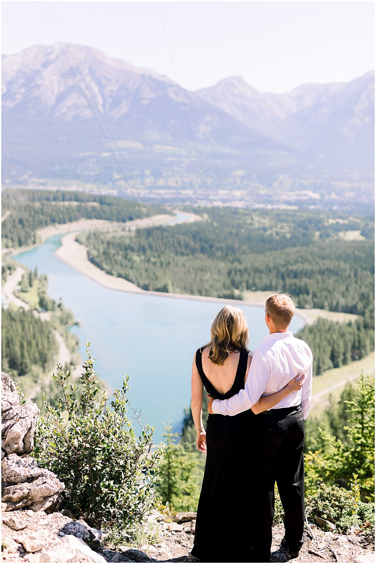 Grassi Lake Engagement Session