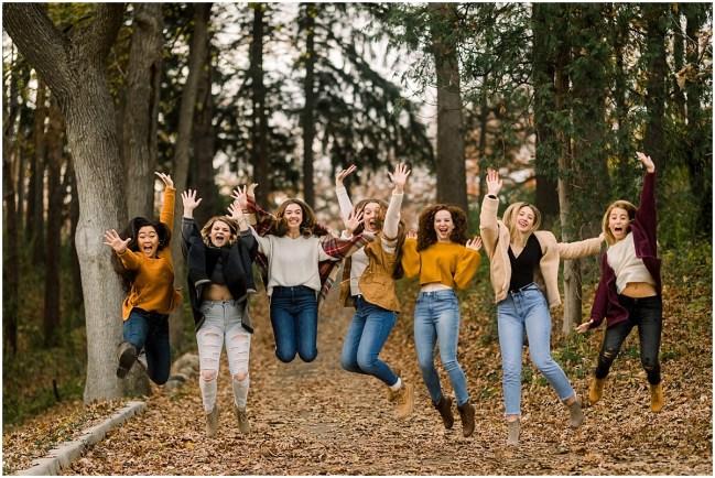 Class of 2019 Senior Spokesmodels Fall Styled Shoot