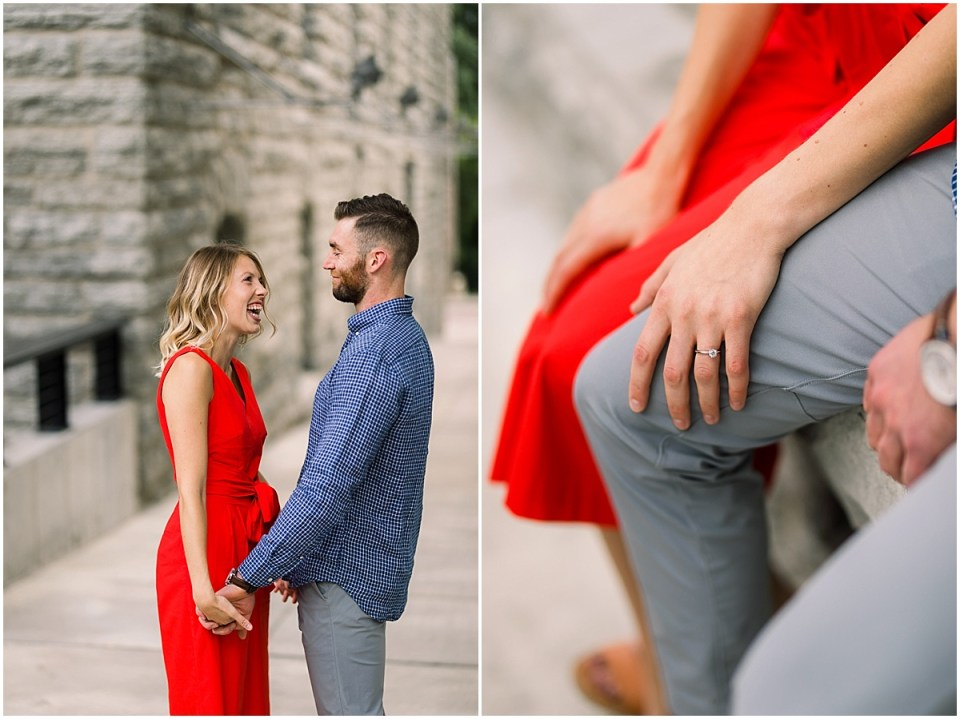 A Mll Artist Lofts in Minneapolis Engagement Session