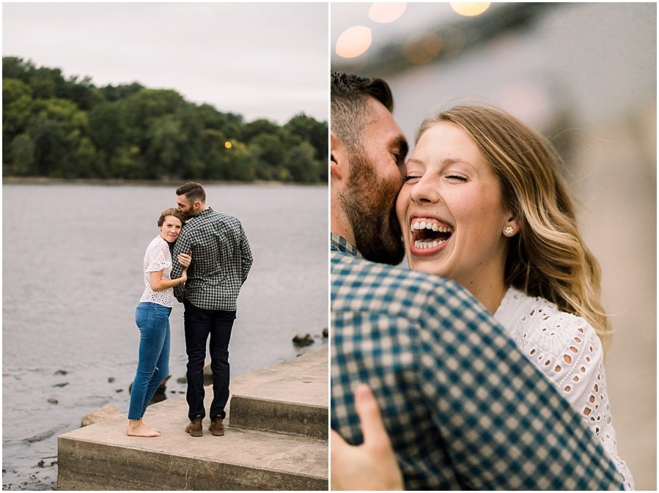 Minneapolis Minnesota Engagement Session by Engagement Photographers Cameron and Tia
