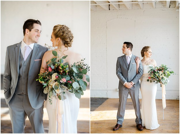 Styled Bride + Groom