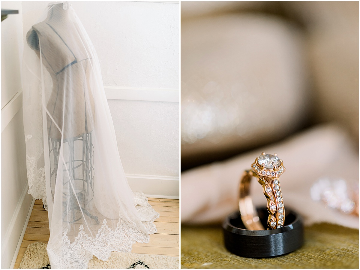 The Capital Room St. Peter Minnesota by Cameron and Tia Photography getting ready details