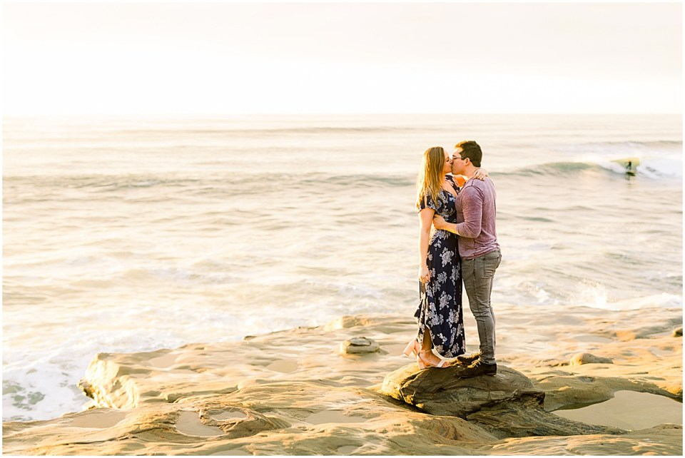 San Diego Sunset Cliffs Couples Photography Session