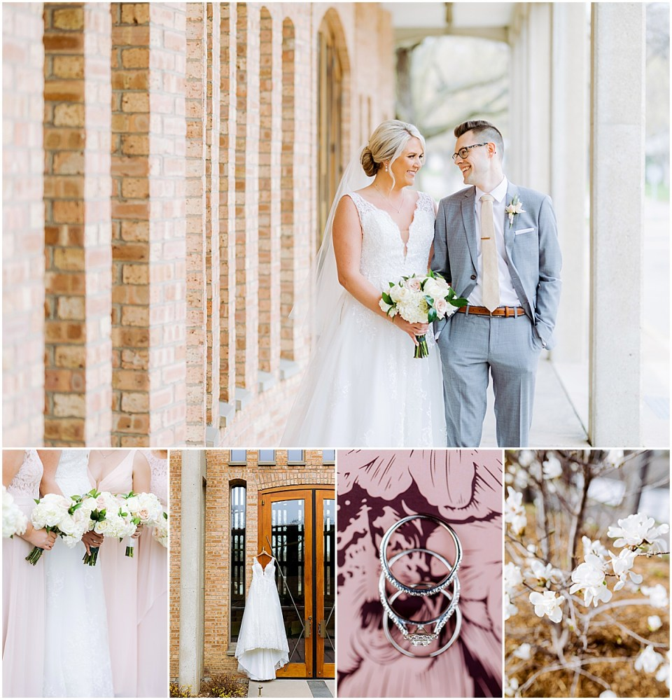 Spring Minneapolis Golf Club Wedding by Cameron and Tia Photography