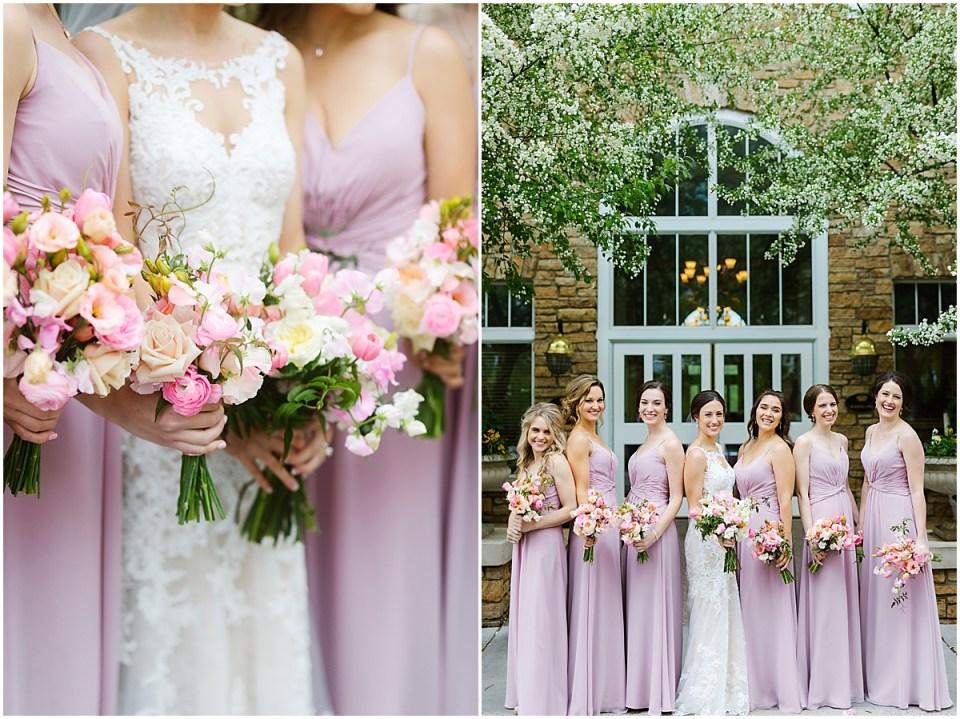 Bearpath Country Club Spring  Wedding bridesmaids