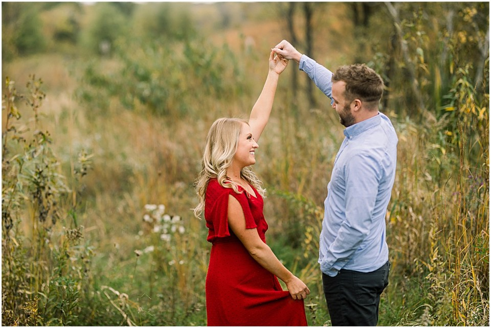 Minnesota Fall Engagement Session