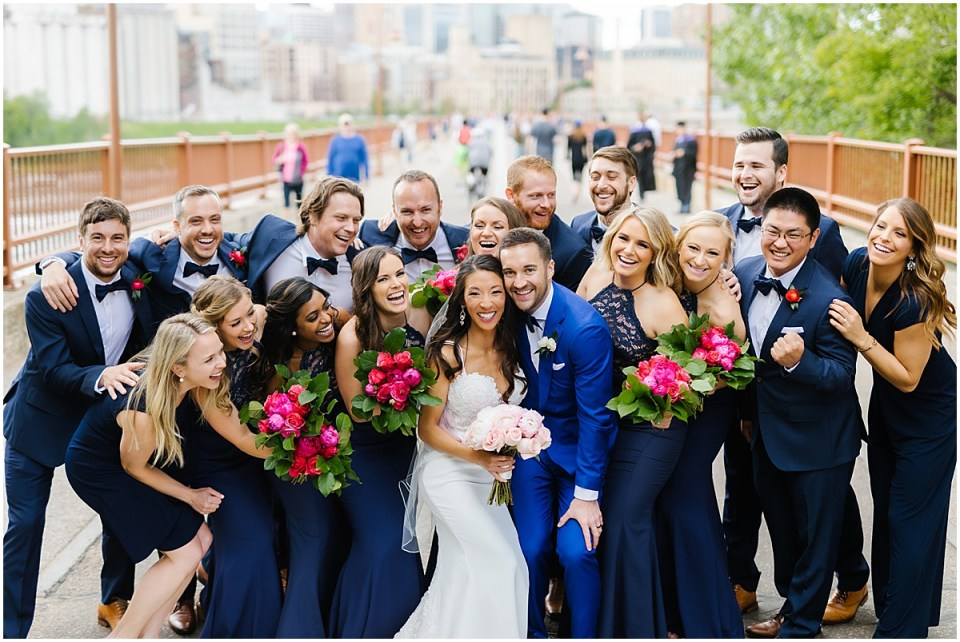 Stone Arch Bridge Minneapolis Event Centers Wedding
