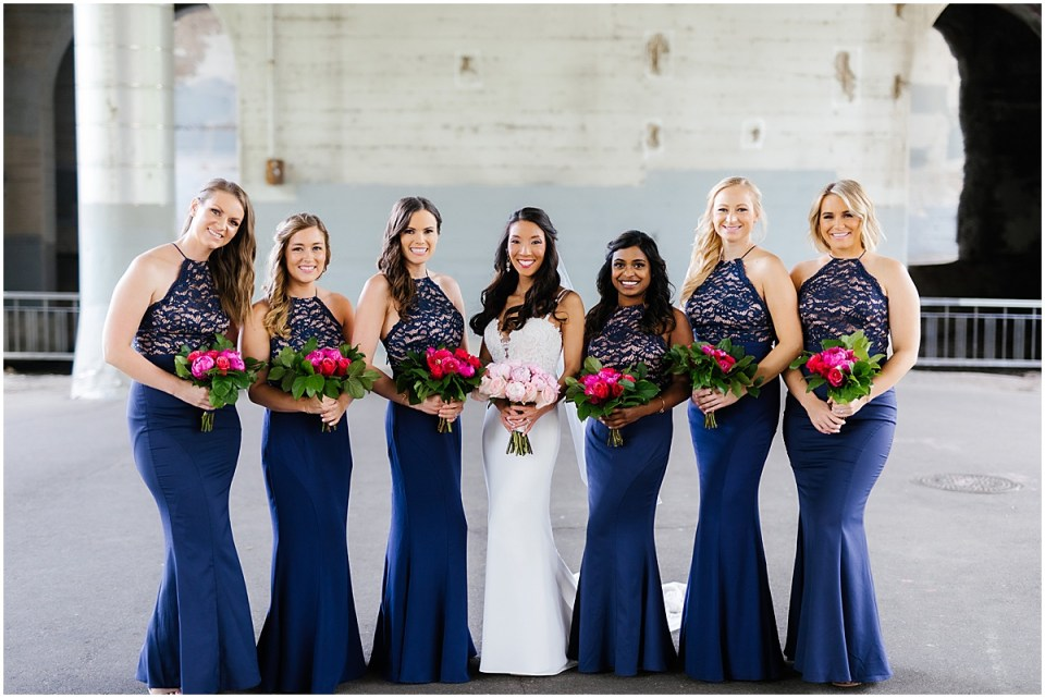 Minneapolis Event Centers Spring Wedding bridesmaids