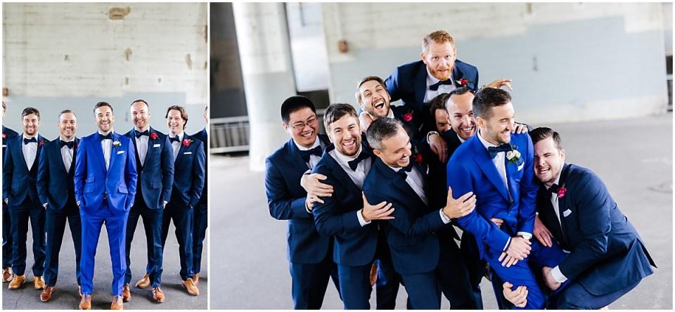 Minneapolis Event Centers Spring Wedding groomsmen