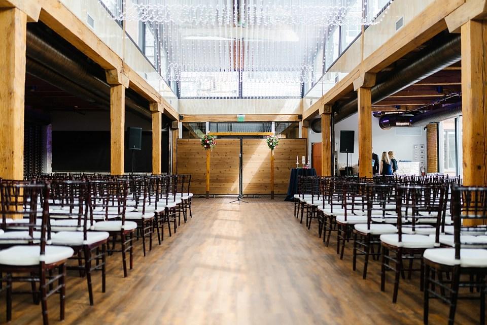 Minneapolis Event Center Riverside Ceremony Untouched Shot