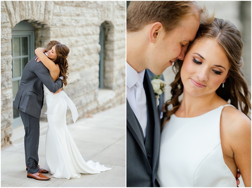 Minneapolis Event Centers wedding first look