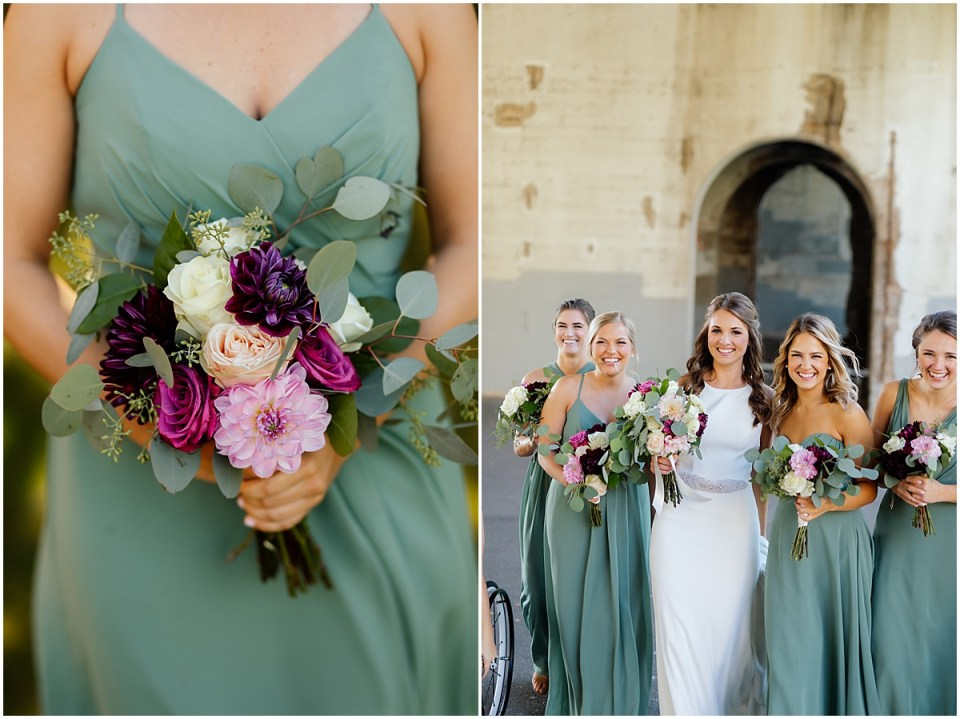 Minneapolis Event Centers bridesmaids on st anthony main