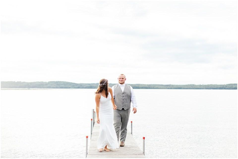 Madden's on Gull Lake summer wedding