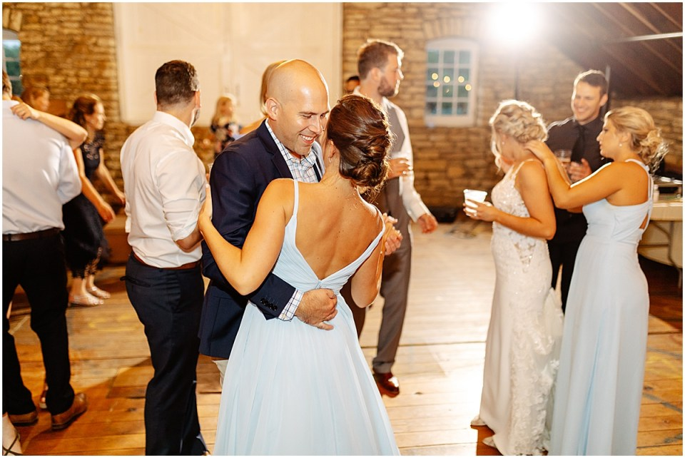 Dance floor inside Mayowood Stone Barn, Rochester MN
