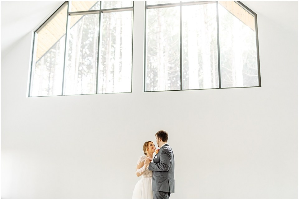 First dance at Pinewood Weddings & Events