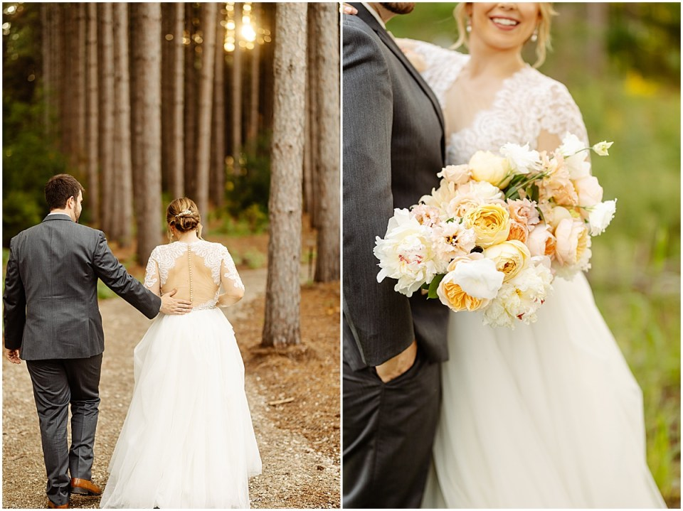 outdoor portraits at Pinewood Weddings & Events