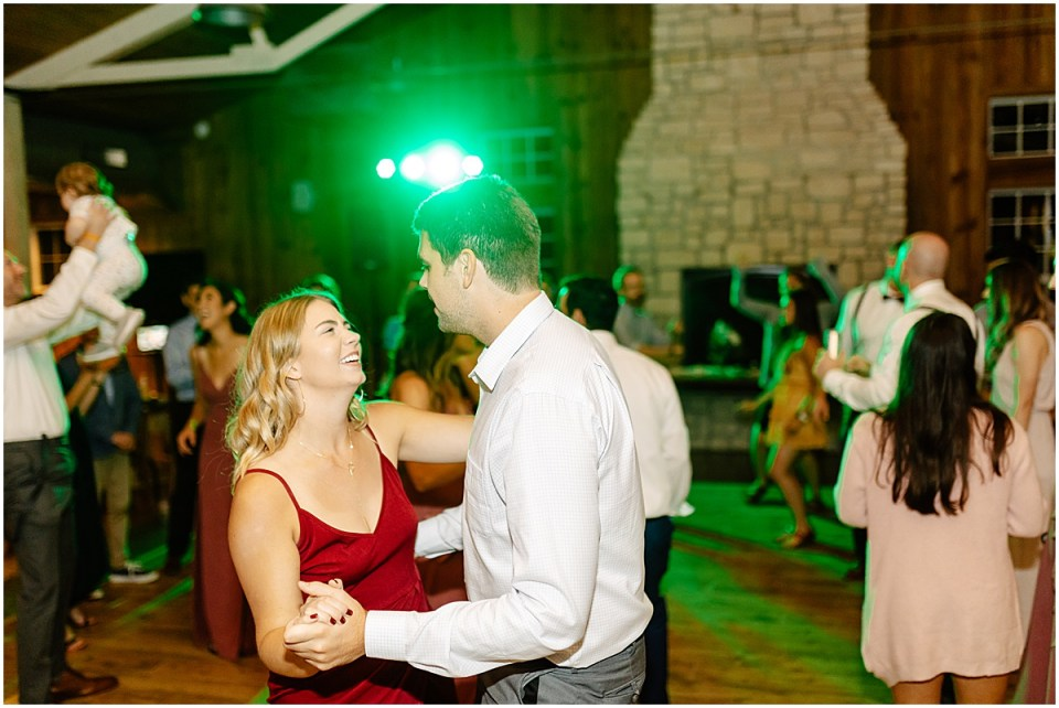 dance inside Almquist Farm MN