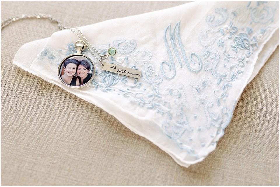 Wedding details shot