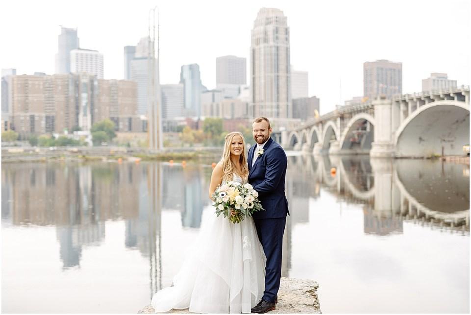 Minneapolis wedding portraits at The Grand 1858