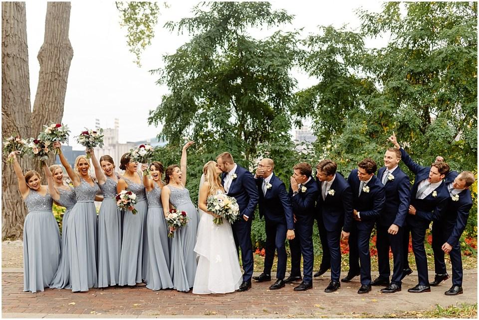 Bridal party at The Grand 1858