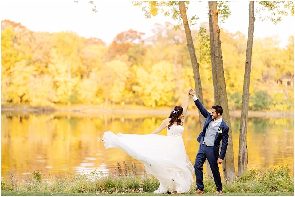 golden hour Leopold's Mississippi Gardens Wedding
