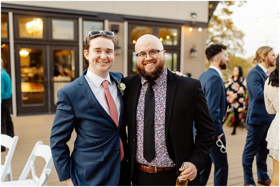 outsideLeopold's Mississippi Gardens Wedding