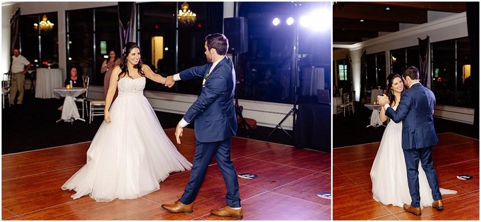 first dance Leopold's Mississippi Gardens Wedding