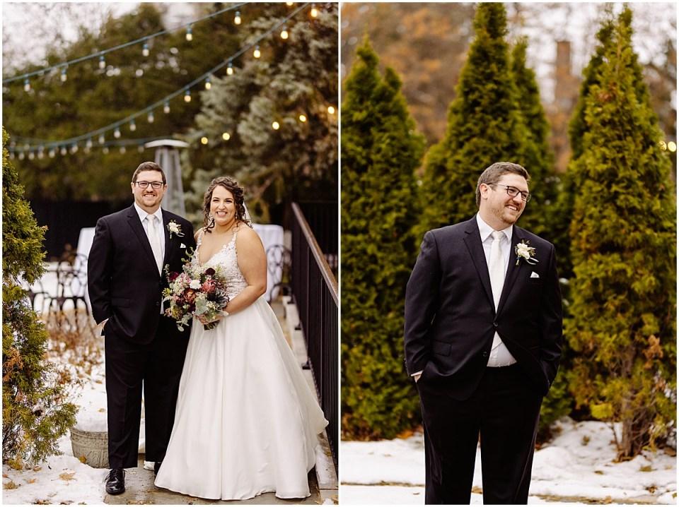 St. Paul College Club Wedding Portraits