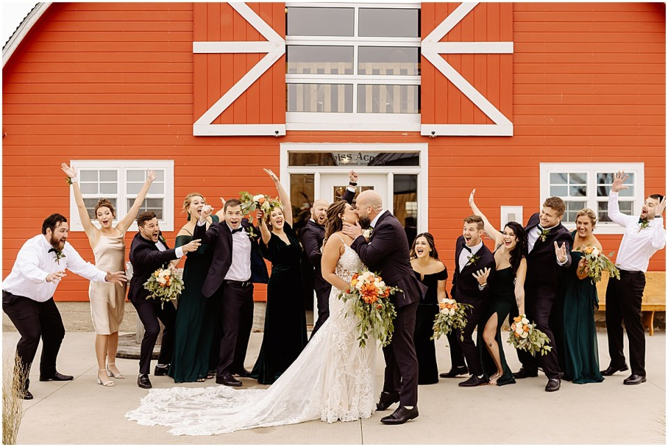 Swiss Acres Wedding at Reception Barn