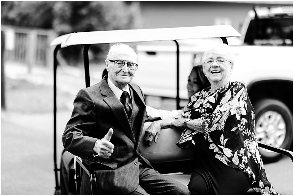 Grandparents at Wilson Bay Maddens Resort