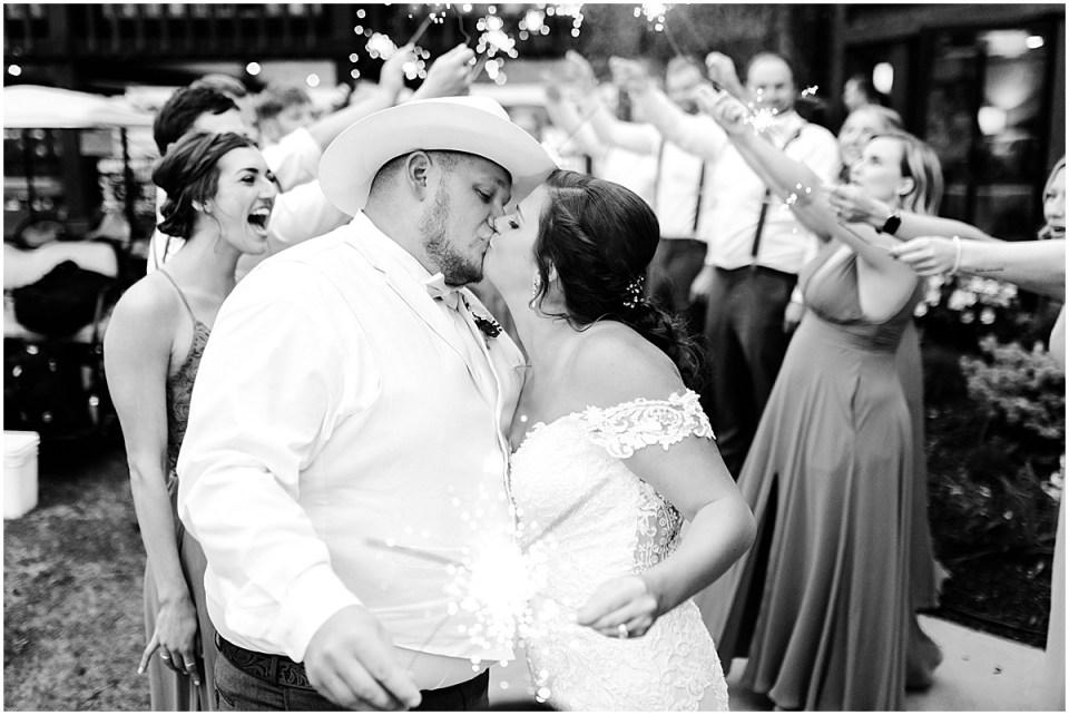Madden's Resort in Brainerd Wedding with Sparkler Exit