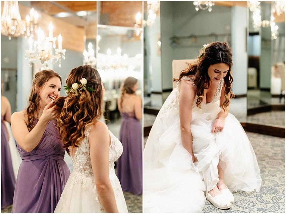 A'BULAE wedding getting ready space