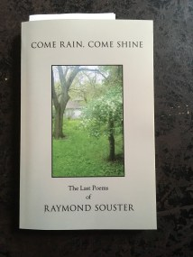 Raymond Souster's final poems, published by posthumously by his literary executor (Donna Dunlop) under the Contact Press name (as per Souster's wishes).
