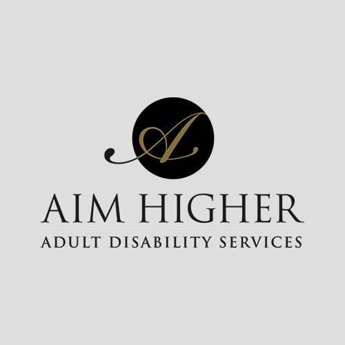 Aim Higher Adult Disability Services logo